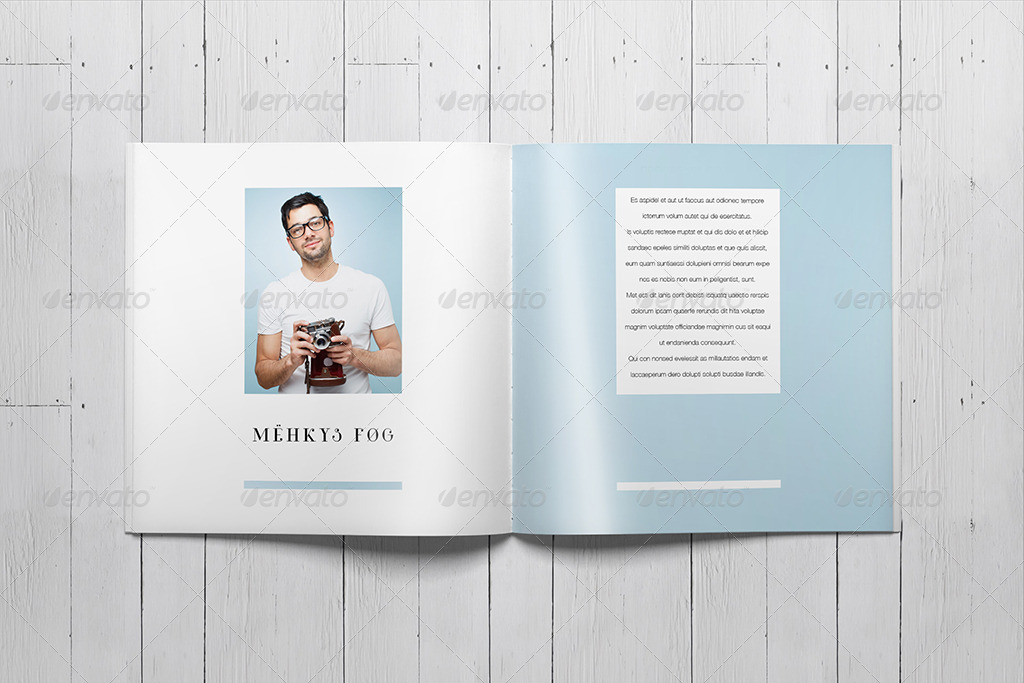 indesign templates for books - indesign square photo book template by sacvand graphicriver