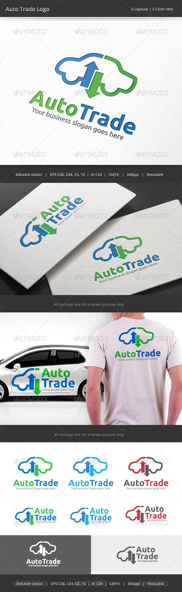 GraphicRiver Auto Car Trade Logo 8329810