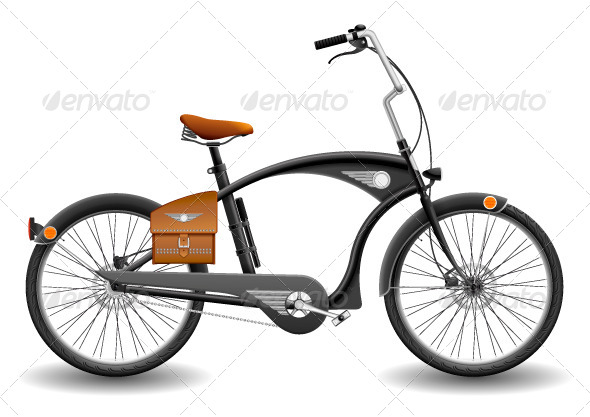 GraphicRiver City Bicycle 8329875