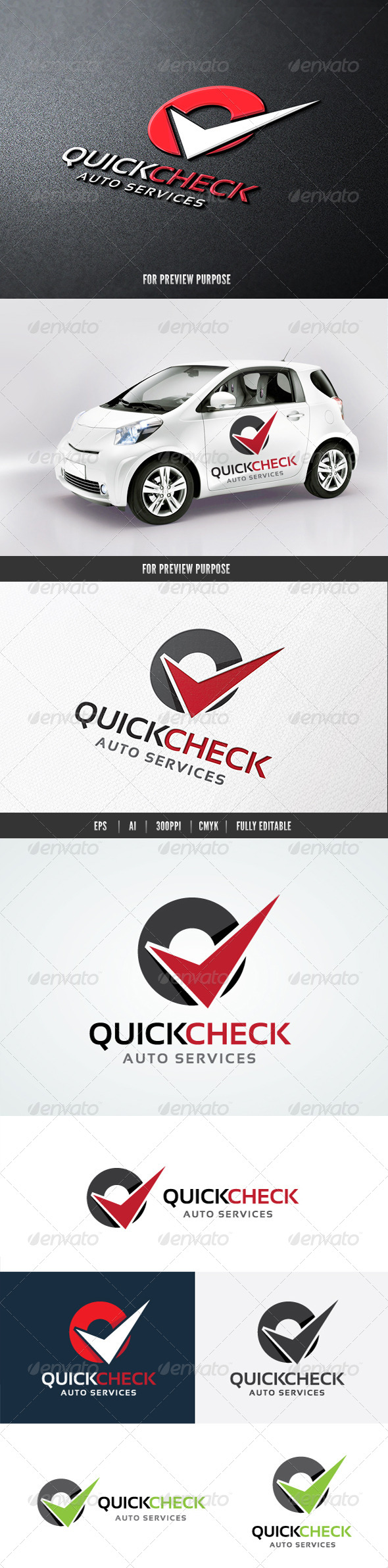 GraphicRiver Quick Check Auto Services 8329879