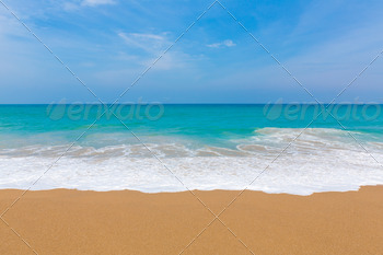 Beach and tropical sea - PhotoDune Item for Sale