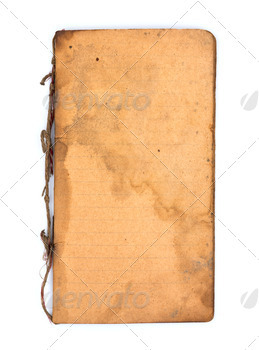 Old book on white background - PhotoDune Item for Sale