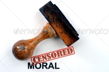 Censored moral - PhotoDune Item for Sale