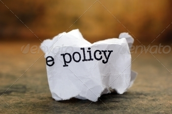 Policy trash concept - PhotoDune Item for Sale