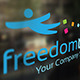 Freedom Travel Logo - GraphicRiver Item for Sale
