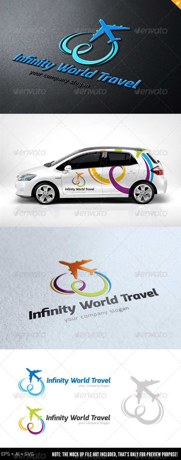 GraphicRiver Infinity World Travel Logo 8331008