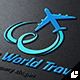 Infinity World Travel Logo - GraphicRiver Item for Sale
