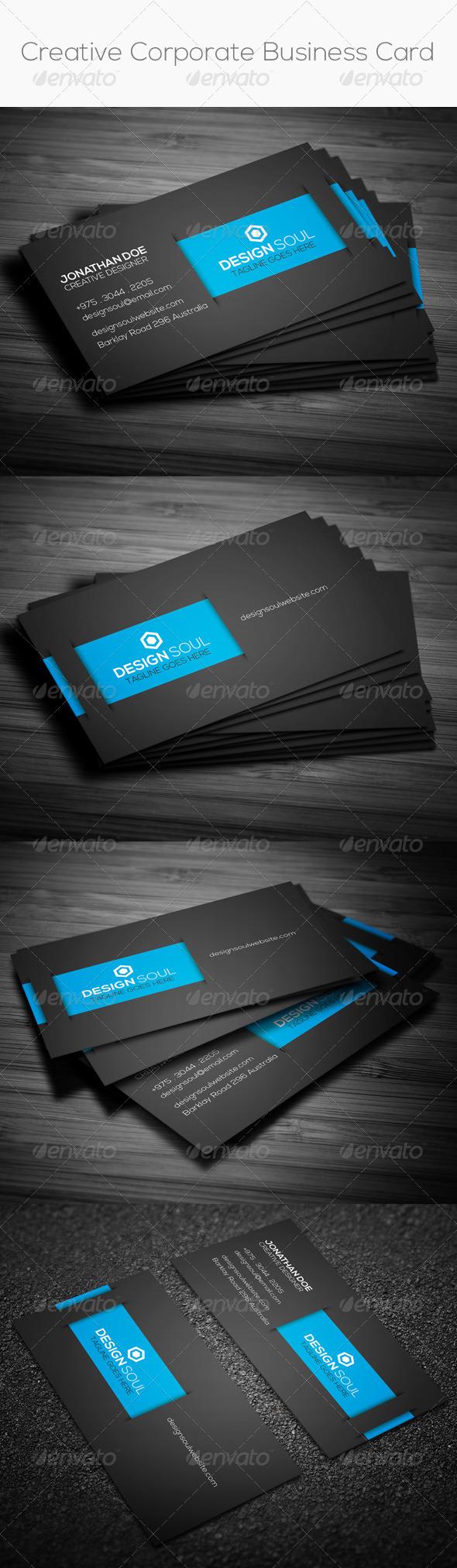GraphicRiver Creative Corporate Business Card 8331072