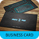 Creative Business Card Template SN-21 - GraphicRiver Item for Sale
