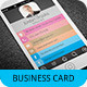 iPhone Business Card Template V-2 - GraphicRiver Item for Sale