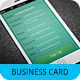 iPhone Business Card Template V-3 - GraphicRiver Item for Sale