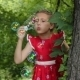 Child Blowing Bubbles - VideoHive Item for Sale