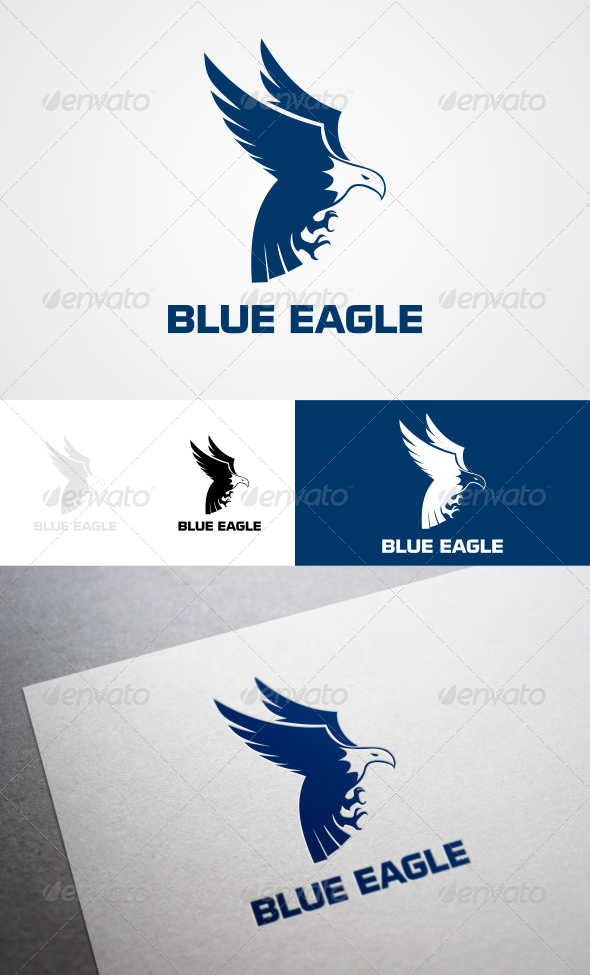 GraphicRiver Blue Eagle 8332399