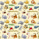 Savannah Animals Background. - GraphicRiver Item for Sale