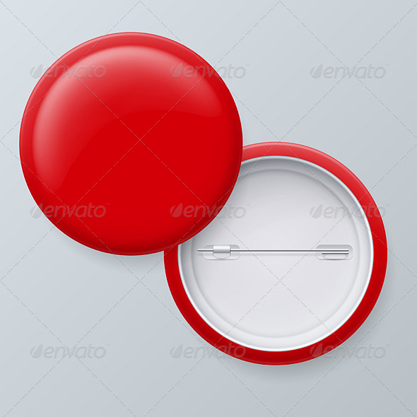 GraphicRiver Blank Red Badges 8332549
