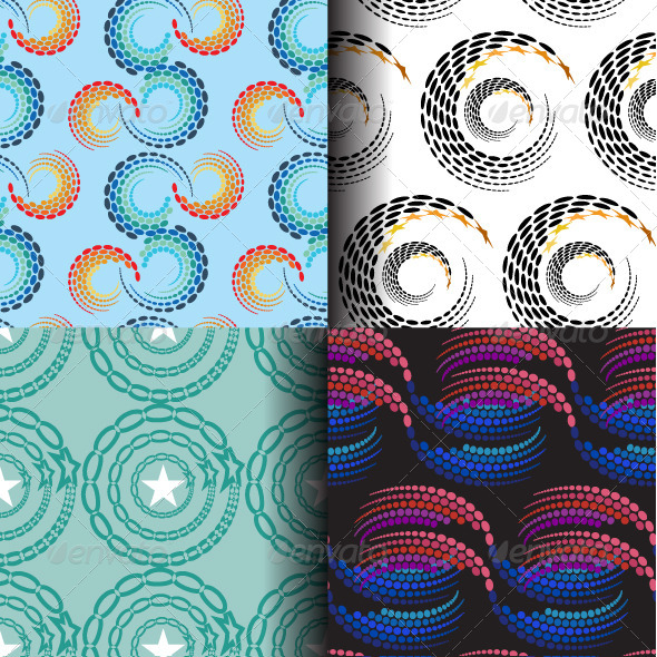 GraphicRiver Abstract Seamless Patterns 8333005