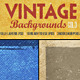 Vintage Backgrounds Col3 - GraphicRiver Item for Sale