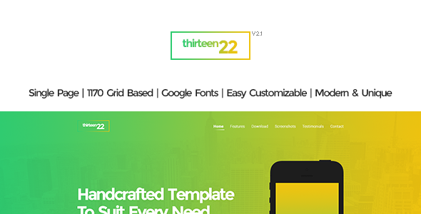 Thirteen22 - PSD - Technology PSD Templates