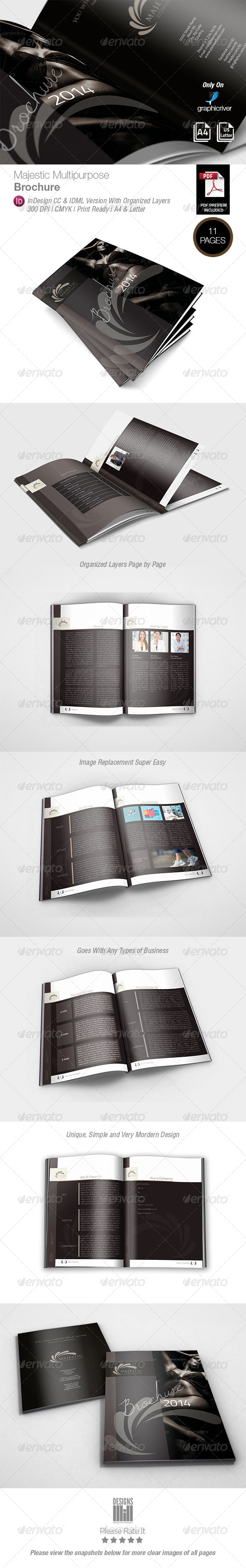 GraphicRiver Majestic Multipurpose Brochure 8334254