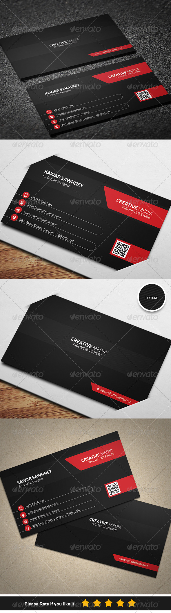 GraphicRiver Corporate Business Card 7 8334444