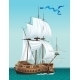 Sailing Ship in the Sea - GraphicRiver Item for Sale