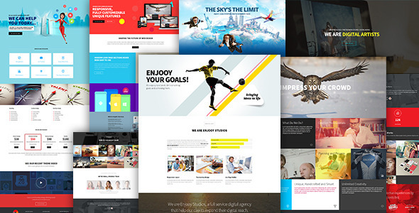 ENJOOY - Responsive Multi-Purpose WordPress Theme - Creative WordPress