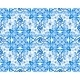 Blue Floral Seamless Pattern - GraphicRiver Item for Sale