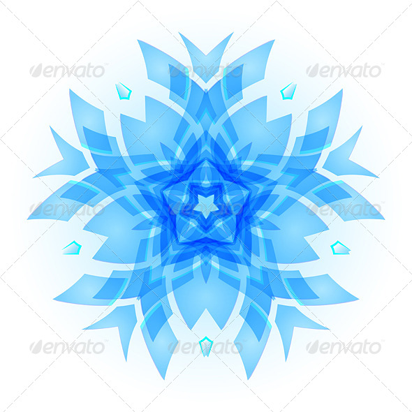 GraphicRiver Snowflake 8336329