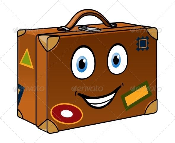 GraphicRiver Cartoon Suitcase 8336419