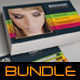 4 in 1 Multipurpose Business Card Bundle 02 - GraphicRiver Item for Sale