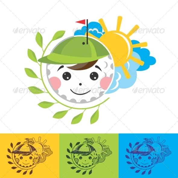 GraphicRiver Golf Illustration 8336779