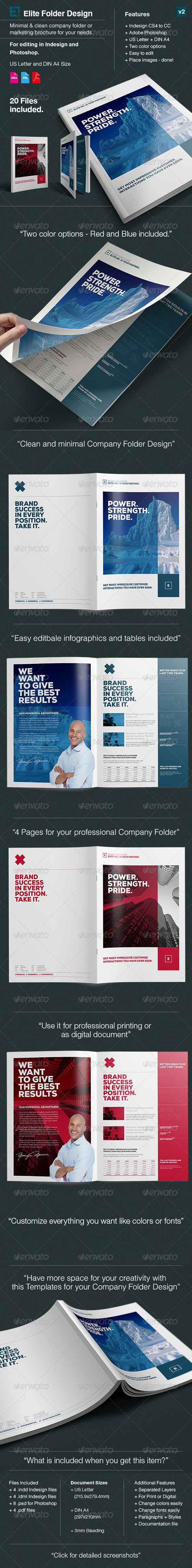 GraphicRiver Elite Company Folder in A4 and US Letter 8328138