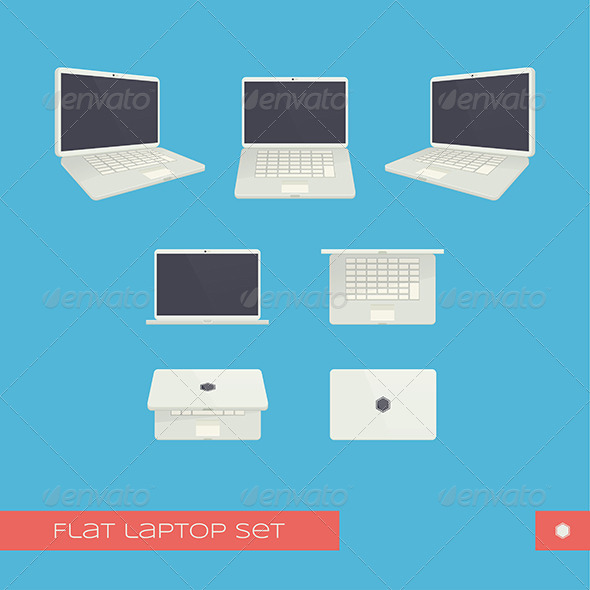 GraphicRiver Laptop 8337183