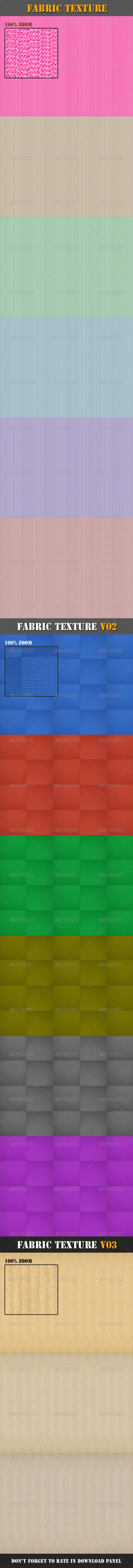 GraphicRiver Fabric Texture Bundle 8337209
