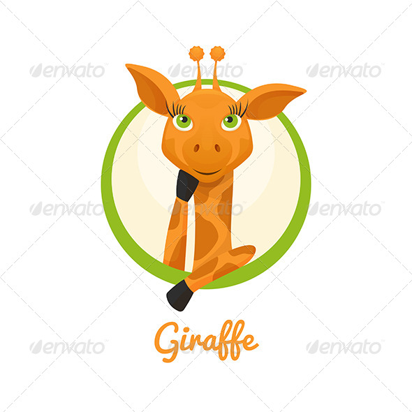 GraphicRiver Giraffe 8337217