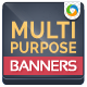 Multi Purpose Banner Set - GraphicRiver Item for Sale