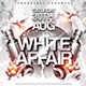 White Affair Flyer Template - GraphicRiver Item for Sale