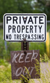 Weathered No Trespassing Sign - PhotoDune Item for Sale