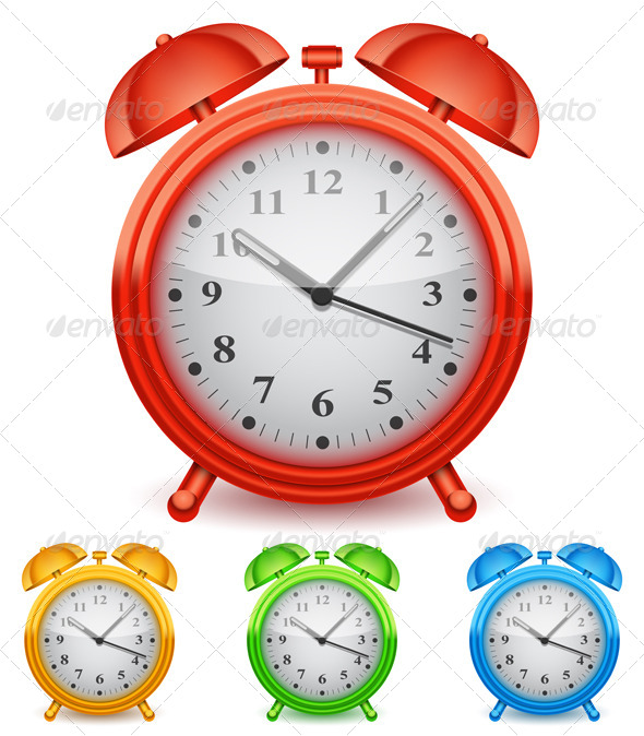GraphicRiver Alarm Clock 8338361