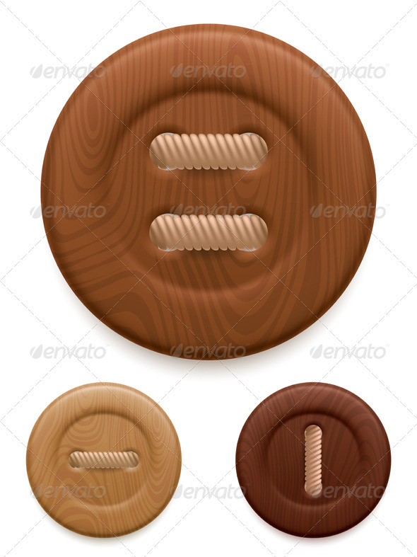 GraphicRiver Clothing Buttons 8338363