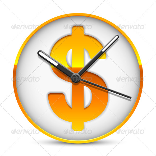 GraphicRiver Time is Money 8338365
