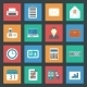 Office Flat Icons Set - GraphicRiver Item for Sale
