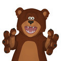 3d cartoon bear  - PhotoDune Item for Sale
