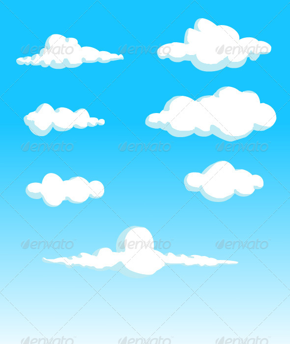 GraphicRiver Clouds 8338972