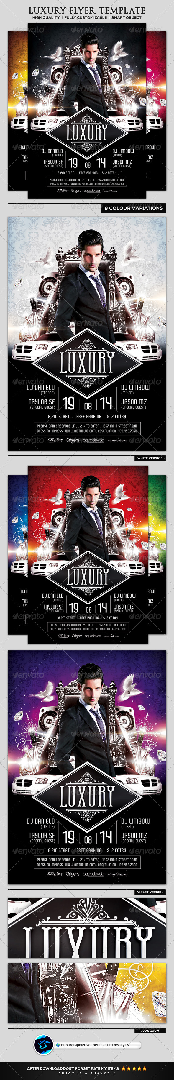 GraphicRiver Luxury Flyer Template 8339181