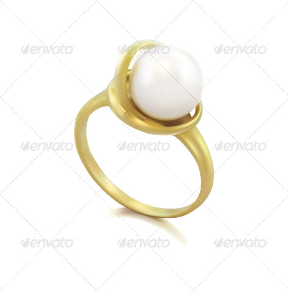 GraphicRiver Ring with Pearl 8339227
