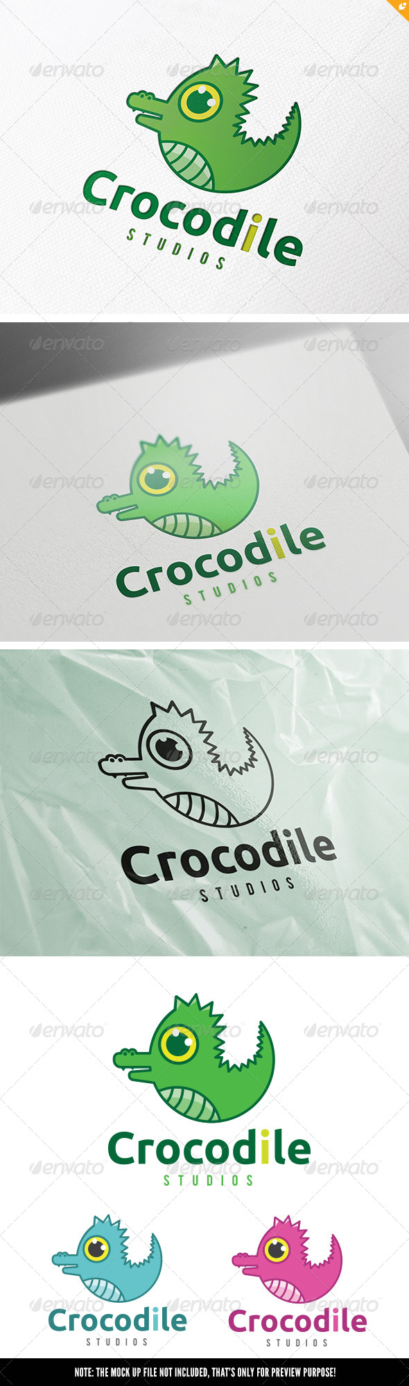 GraphicRiver Crocodile Studios 8339292