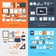 Flat Mockup - GraphicRiver Item for Sale