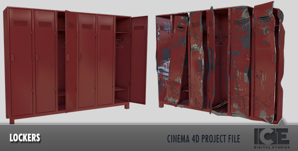 Locker - 3DOcean Item for Sale