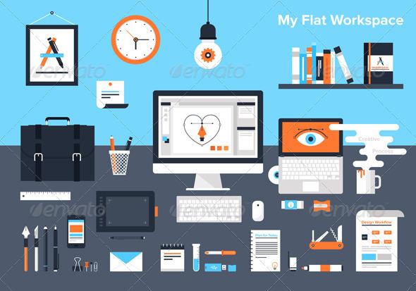 GraphicRiver Designer Workplace 8339966